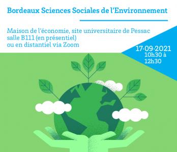 [Séminaire] Bordeaux Sciences Sociales de l'Environnement