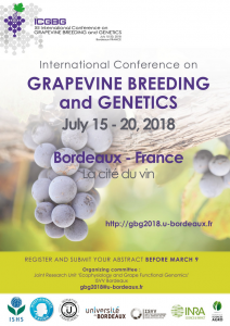 XII International Conference on Grapevine Breeding and Genetics