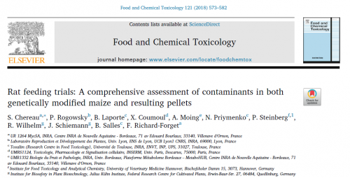 GM-Maize contaminants