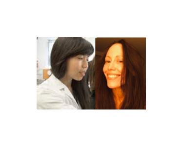 Accueil de Léa Décarie-Spain et Stéphanie Fulton de Montréal au laboratoire