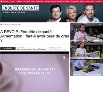 NutriNeuro dans l'émission Enquête de Santé sur France 5