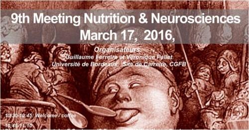 9ème Meeting Nutrition & Neurosciences