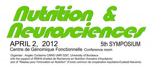 5 ème meeting  Nutrition et Neurosciences