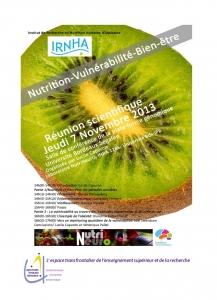 Journée Nutrition-Vulnérabilité-Bien-être (NutriNeurO & IRNHA)