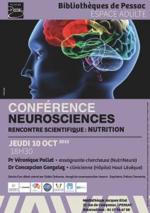 Conférence Neurosciences et Nutrition (grand public)
