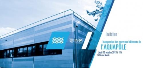Inauguration des nouveaux batiments de l'Aquapôle jeudi 10 octobre 2013
