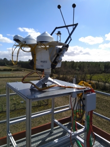 INRA UEFP Traqueur solaire