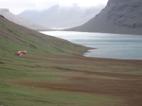 Val Studer : un des sites d'échantillonnage du métagénome phytoviral aux Iles Kerguelen