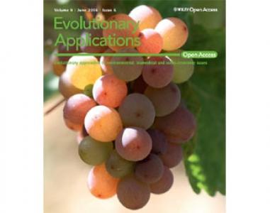 Article paru en juin 2016 dans Evolutionary Applications