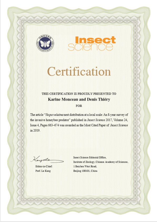 award-insectScience